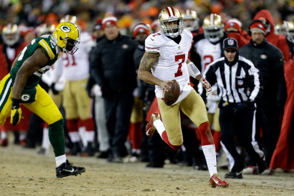 Kaepernick's Legs Down The Stretch Leads Niners To 23-20 Win Ov…
